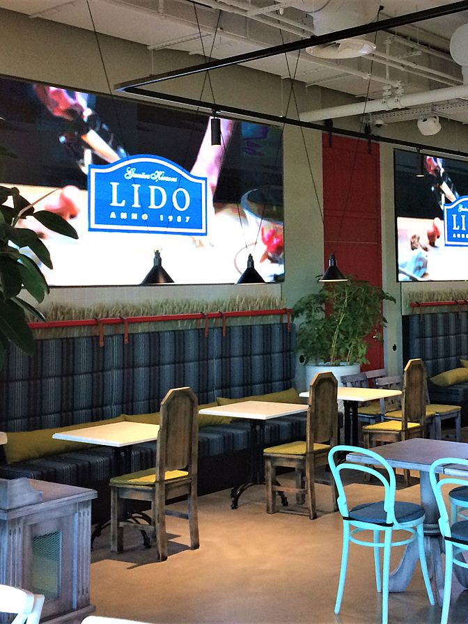 LIDO new family restaurant in ALFA, Riga, Latvia