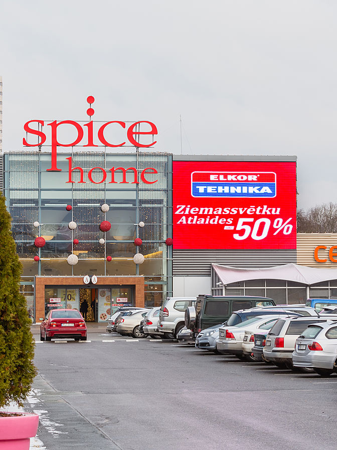 Shopping Mall Spice Home, Riga, Latvia